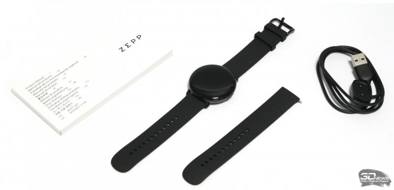 Комплект поставки часов Zepp E