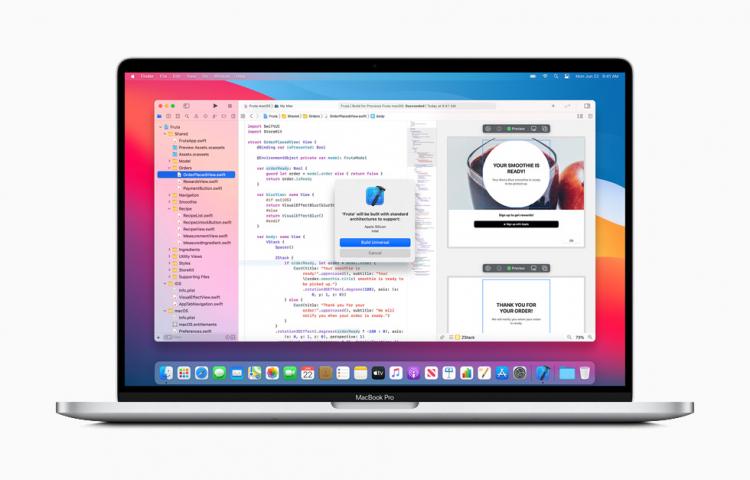 """Презентация компьютеров Mac на собственных процессорах Apple ожидается 17 ноября"""""""