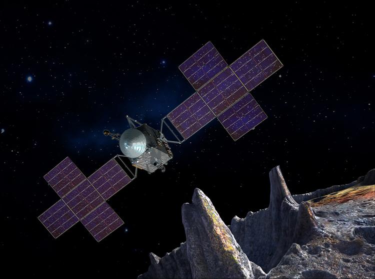 """Зонд для исследования гигантского астероида Психея будет запущен в августе 2022 года"""""""