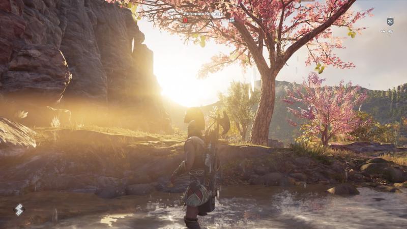 Assassin's Creed Odyssey прекрасно смотрится и на «младшей» PS4 Slim