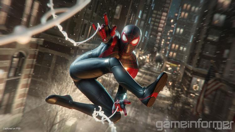 Снег не окажет влияния на игровой процесс Marvel's Spider-Man: Miles Morales