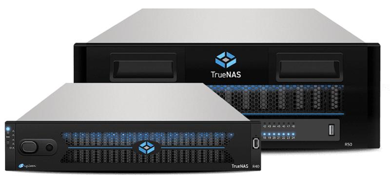 Компания iXsystems также выпускает готовые решения на базе TrueNAS
