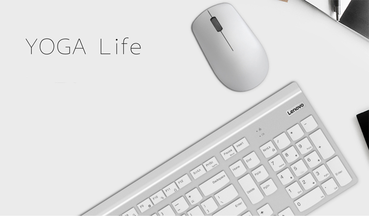 """Клавиатура и мышь из набора Lenovo Yoga Life не нуждаются в проводах"""""""