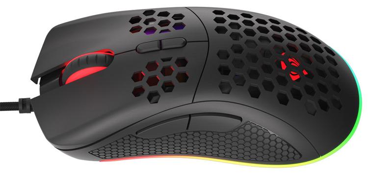 """Игровая мышь Genesis Krypton 550 с перфорированным корпусом весит 70 граммов и стоит 35 евро"""""""