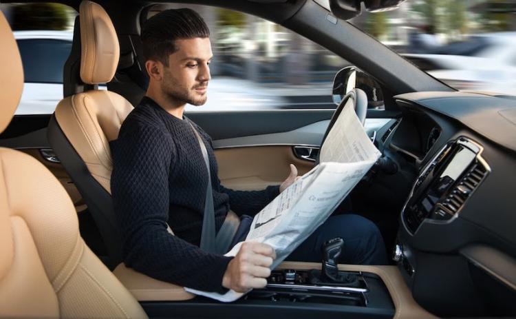 """Возможное появление беспилотных автомобилей на дорогах Великобритании в 2021 году обеспокоило страховщиков"""""""