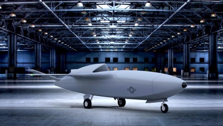 Концептуальное представление беспилотника по программе. Источник изображения: USAF/AFRL