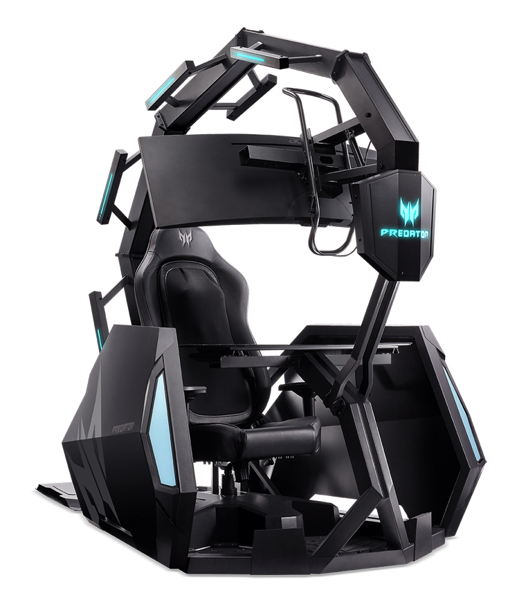 За право взойти на игровой трон Acer Predator Thronos Air придётся заплатить 2 000 000 рублей