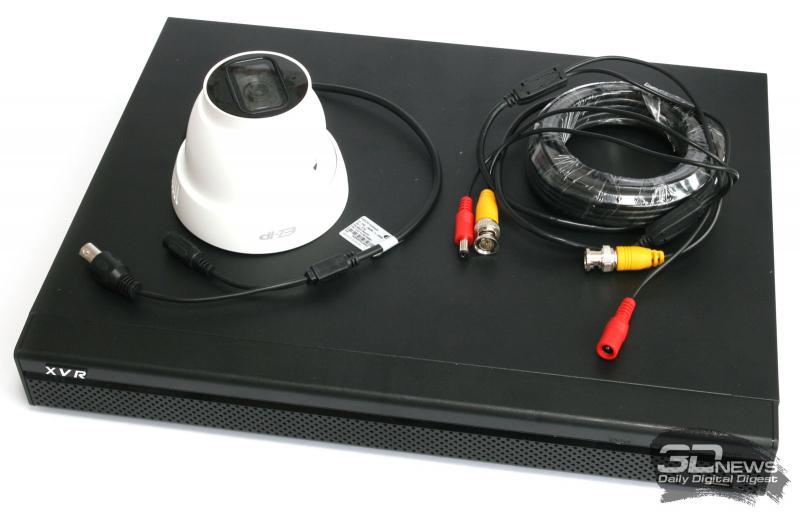 Один из вариантов HDCVI-комплекта для видеонаблюдения от Dahua
