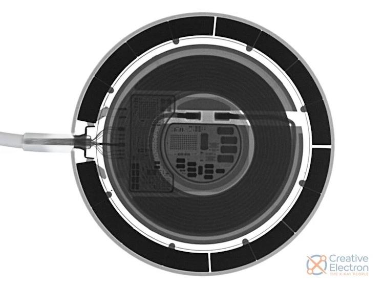 Вскрытие показало, что беспроводная зарядка MagSafe для iPhone обладает предельно простой конструкцией