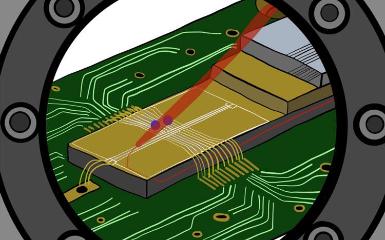 Лазерный луч выходит изнутри чипа, а не снаружи, как раньше. Истчоник изображения: Chiara Decaroli / ETH Zurich