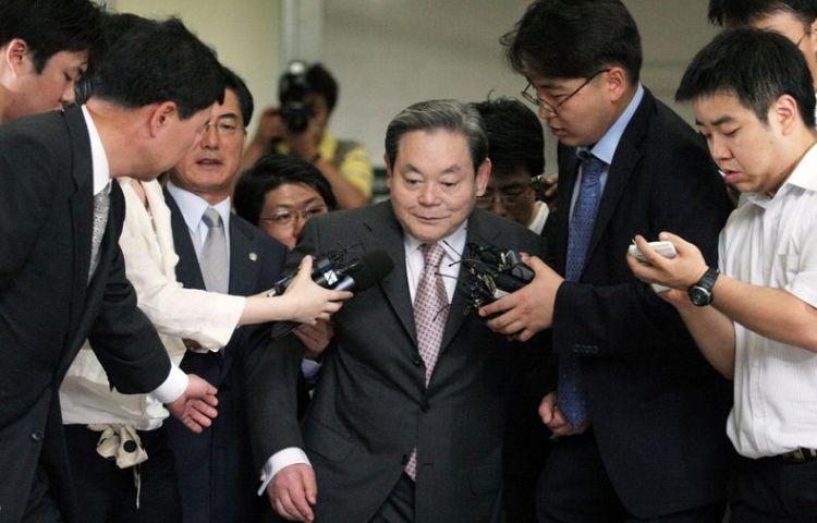 Ушёл из жизни председатель совета директоров Samsung Electronics