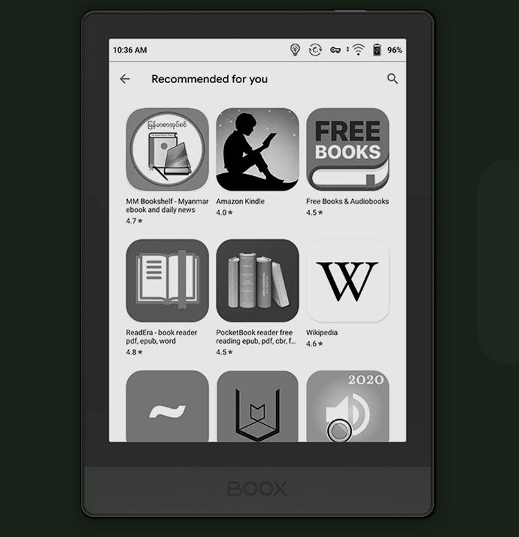 Ридер Onyx Boox Poke3 на базе Android 10 оснащён чипом Snapdragon 636 и портом USB Type-C