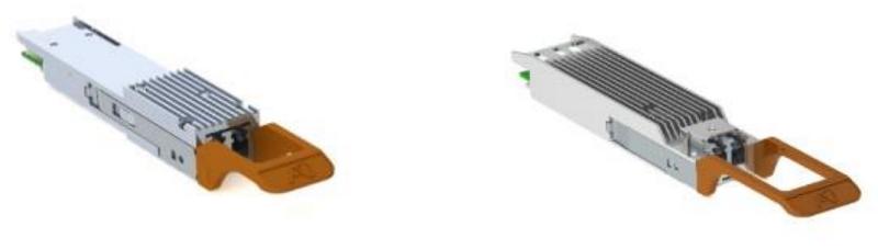 Модули 400ZR: QSFP-DD (слева) и OSFP