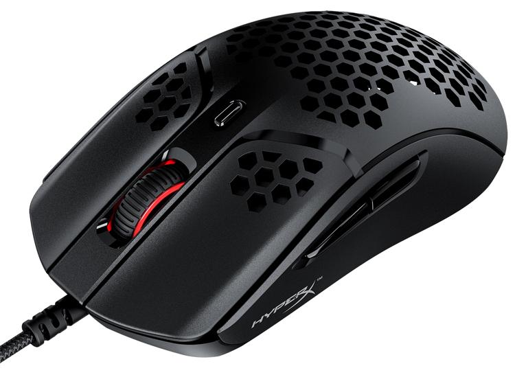 """Мышь HyperX Pulsefire Haste с датчиком на 16 000 DPI весит менее 60 граммов"""""""