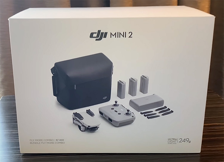 """Появилось видео распаковки дрона DJI Mini 2 — возможности Mavic Air 2 при массе до 250 грамм"""""""