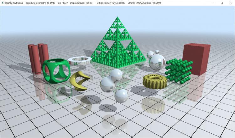 Результат производительности DXR видеокарты GeForce RTX 3090 (источник изображения: Хасан Муджтаба, Wccftech