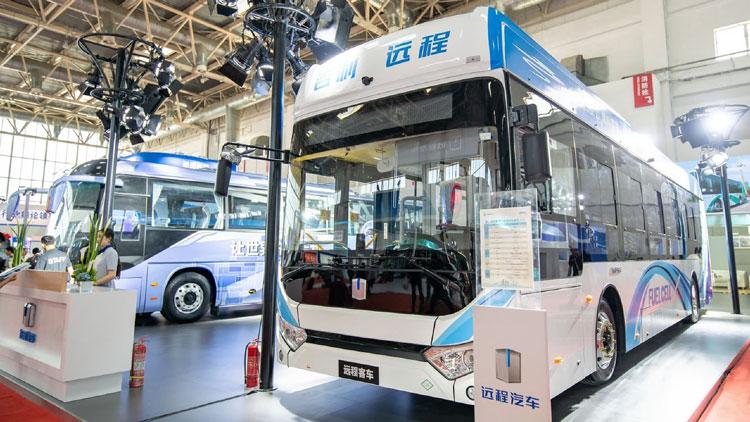 Автобусы компании Geely на топливных элементах
