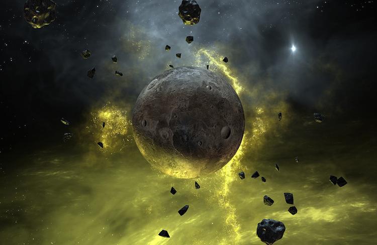 Планета-бродяга размером с Землю обнаружена на просторах Млечного пути