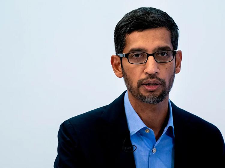 Глава Google Сундар Пичаи (Kenzo Tribouillard/AFP, Getty Images)