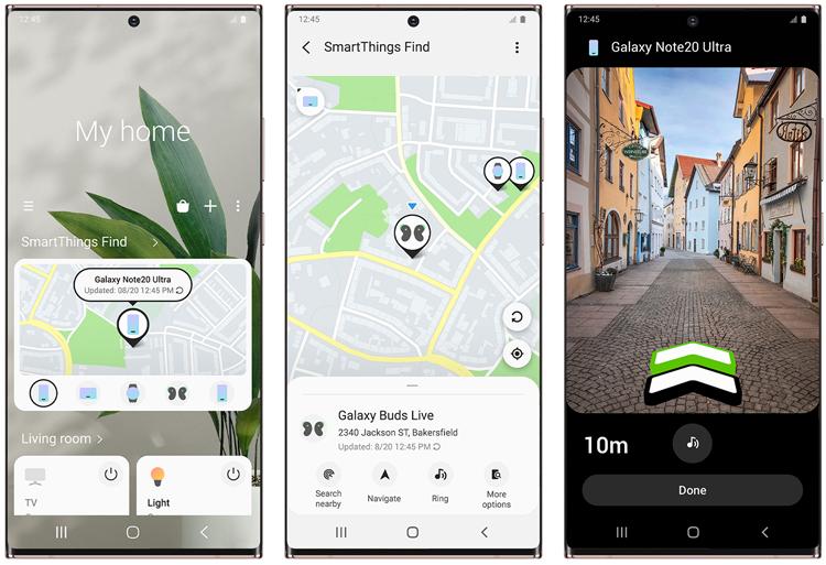 Система Samsung SmartThings Find поможет быстро находить потерянные смартфоны Galaxy
