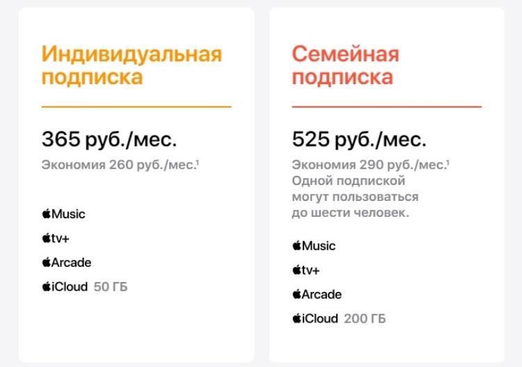 Единая подписка на сервисы Apple One сегодня станет доступна пользователям по всему миру, включая Россию