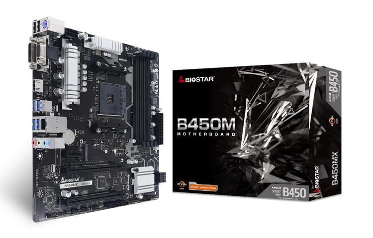 """Biostar представила доступную материнскую плату B450MX для компактных игровых ПК"""""""
