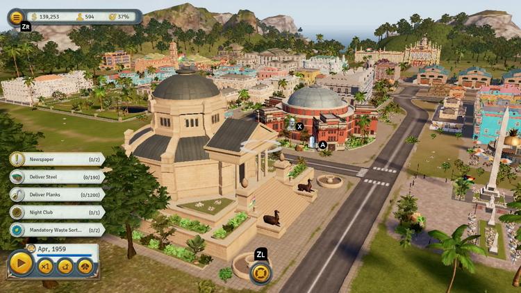 Tropico 6 – Nintendo Switch Edition поступит в продажу 6 ноября