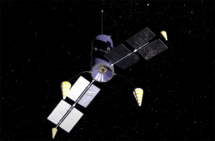 Иллюстрации «Спутниковая система «Гонец»