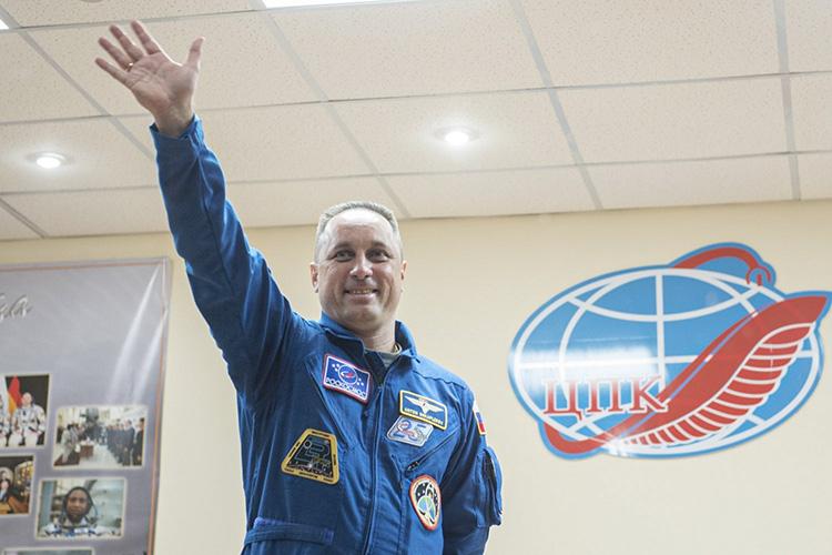 Космонавт Антон Шкаплеров (Роскосмос)