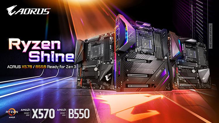 """Gigabyte уже обеспечила платам на AMD X470 и B450 совместимость с Ryzen 5000"""""""