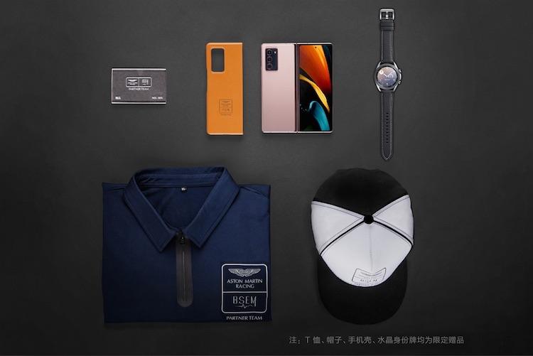 Samsung выпустит лимитированный гибкий смартфон Galaxy Z Fold2 Aston Martin Racing уже 11 ноября