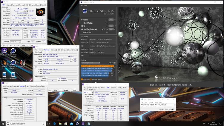 Разгон Ryzen 5 5600X до 4952,39 МГц