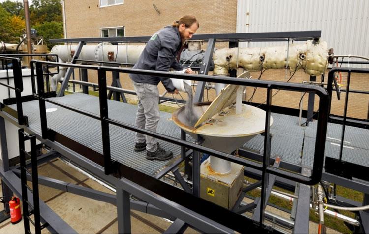 Немецкая пивоварня отапливается сжиганием порошкового железа. Источник изображения: Bart van Overbeeke/TU Eindhoven