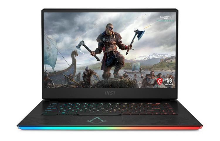 """MSI выпустит эксклюзивный игровой ноутбук GE66 Raider Valhalla Limited Edition к релизу новой Assassin's Creed"""""""