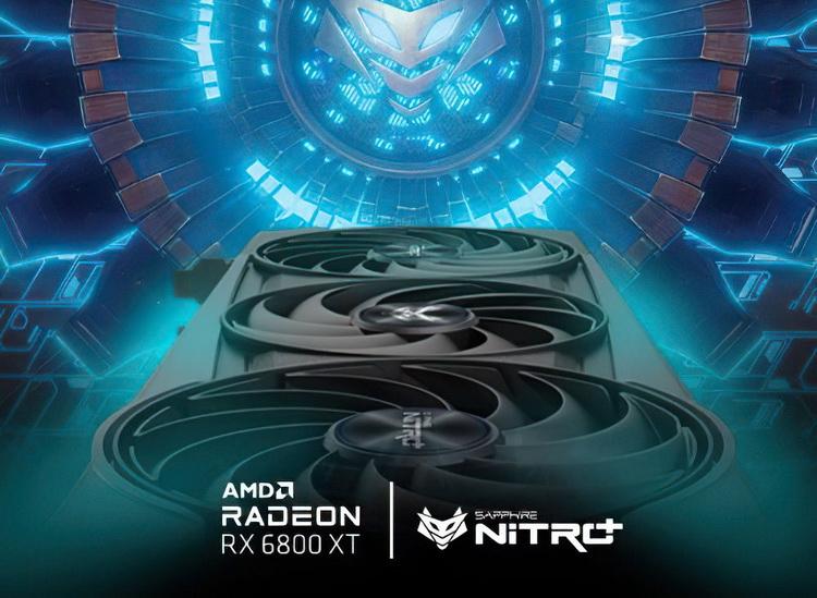 "Sapphire готовит к выпуску мощную видеокарту Radeon RX 6800 XT NITRO+"""