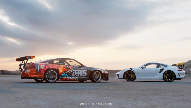 Кадр из тизера следующей Need for Speed