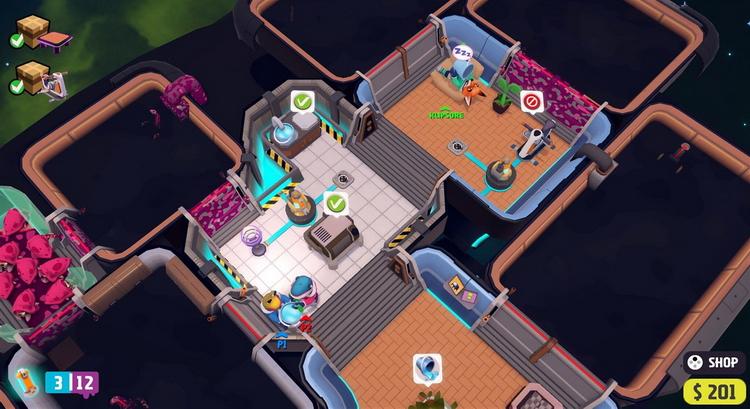 Консольная версия кооперативной стратегии Out of Space выйдет 25 ноября