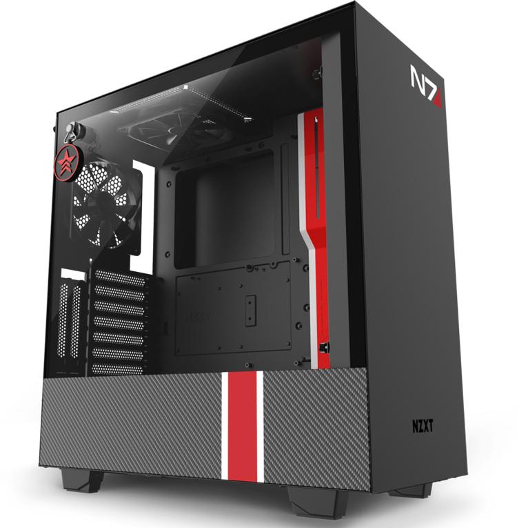 """NZXT оценила компьютерный корпус H510i для фанатов Mass Effect в $200"""""""