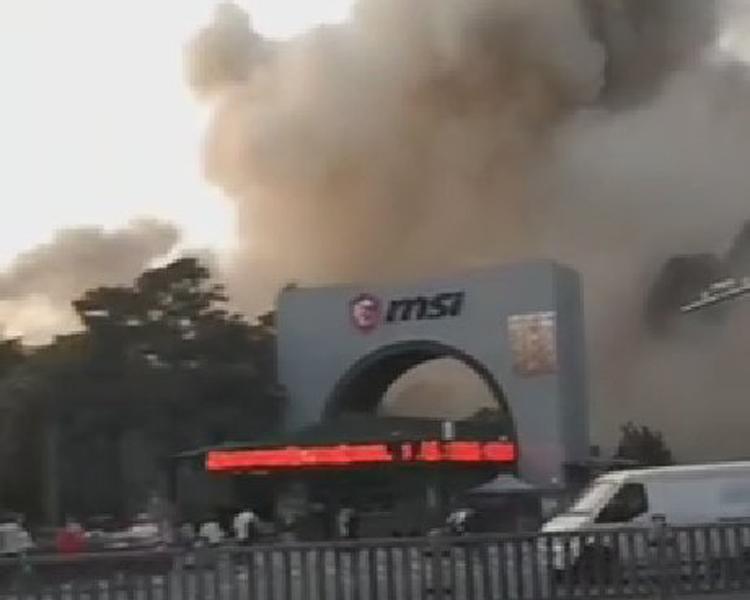 """На одном из предприятий MSI произошёл сильный пожар: вероятно, пострадало производство видеокарт"""""""