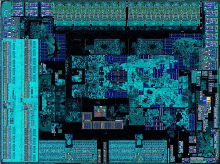Кристалл ввода-вывода Zen 2. Источник изображения: Flickr, Fritzchens Fritz