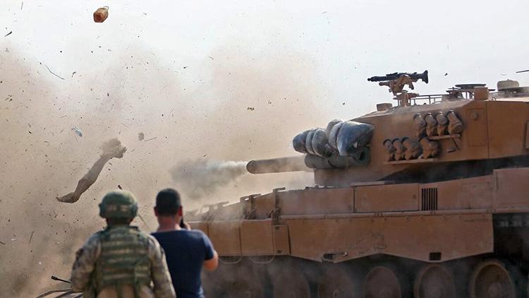 Турецкие солдаты на позиции к востоку сирийского Рас-эль-Айн, 28 октября 2019 года (Nazeer al-Khatib/AFP, Getty Images)