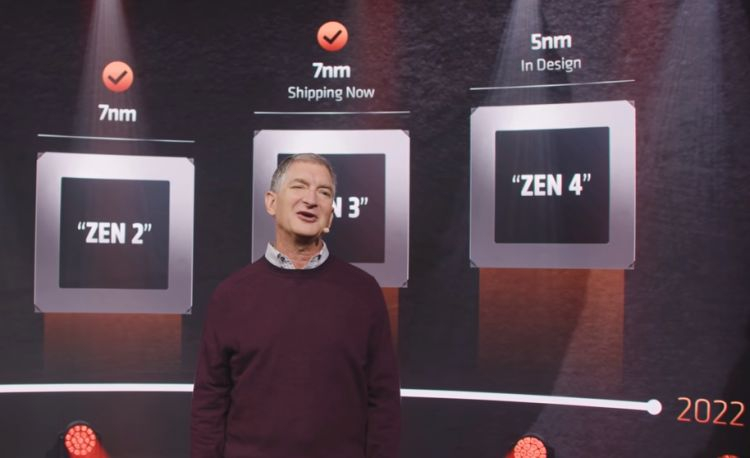 AMD expects Zen 4 processors to make improvements in several ways