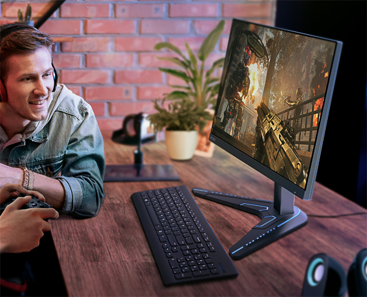 Lenovo presented game monitors G27q-20 and G27-20 with AMD FreeSync Premium support