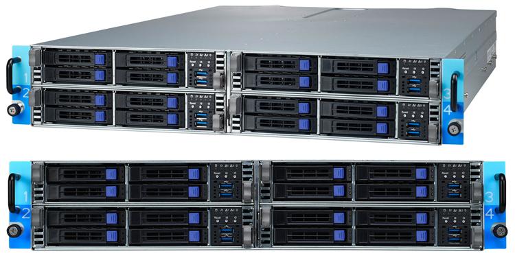 TYAN Transport CX TN73-B8037-X4S: high density server based on AMD EPYC