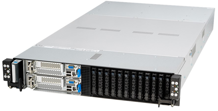 ASUS RS620SA-E10-RS12: world's first 6-node 2U server with AMD EPYC 7002