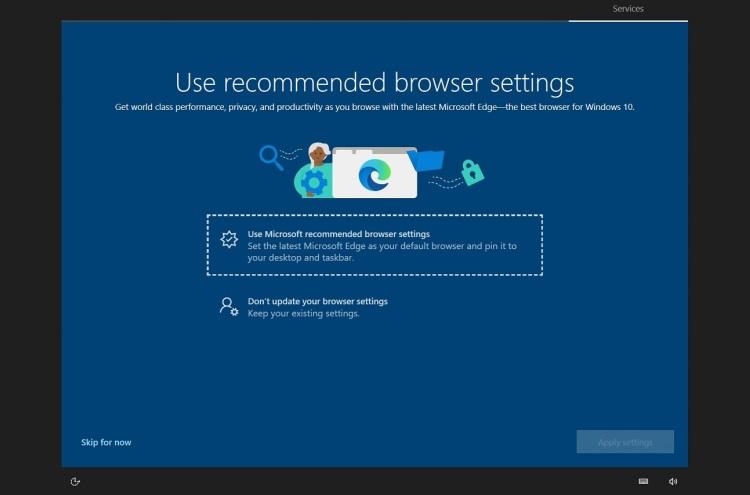 """В Windows 10 появилась полноэкранная реклама браузера Edge"""""""