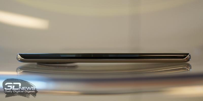 Huawei Mate 40 Pro, левая грань свободна от функциональных элементов