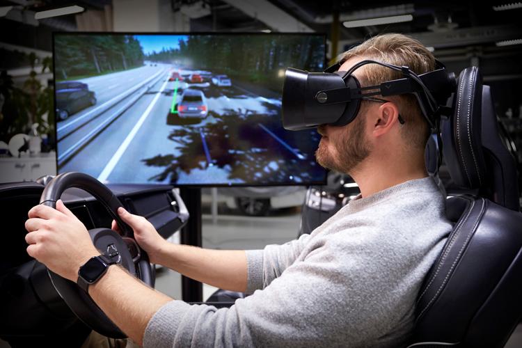 Volvo создала «совершенный симулятор вождения» с виртуальной реальностью