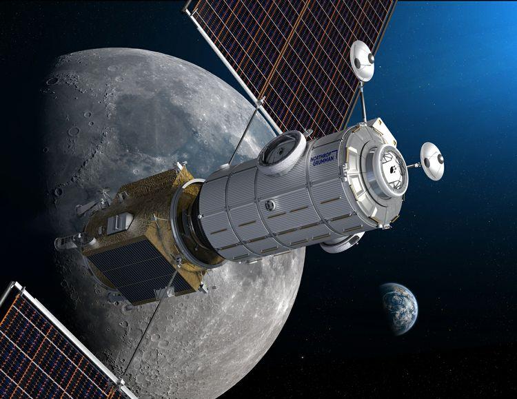 Модуль HALO в представлении художника. Источник изображения: Northrop Grumman