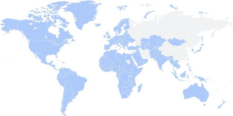 Глобальная карта доступности функций на основе RCS
